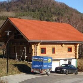 Blockhaus Neubauprojekt in Jungingen