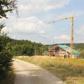 Blockhaus Neubau Mahlstetten