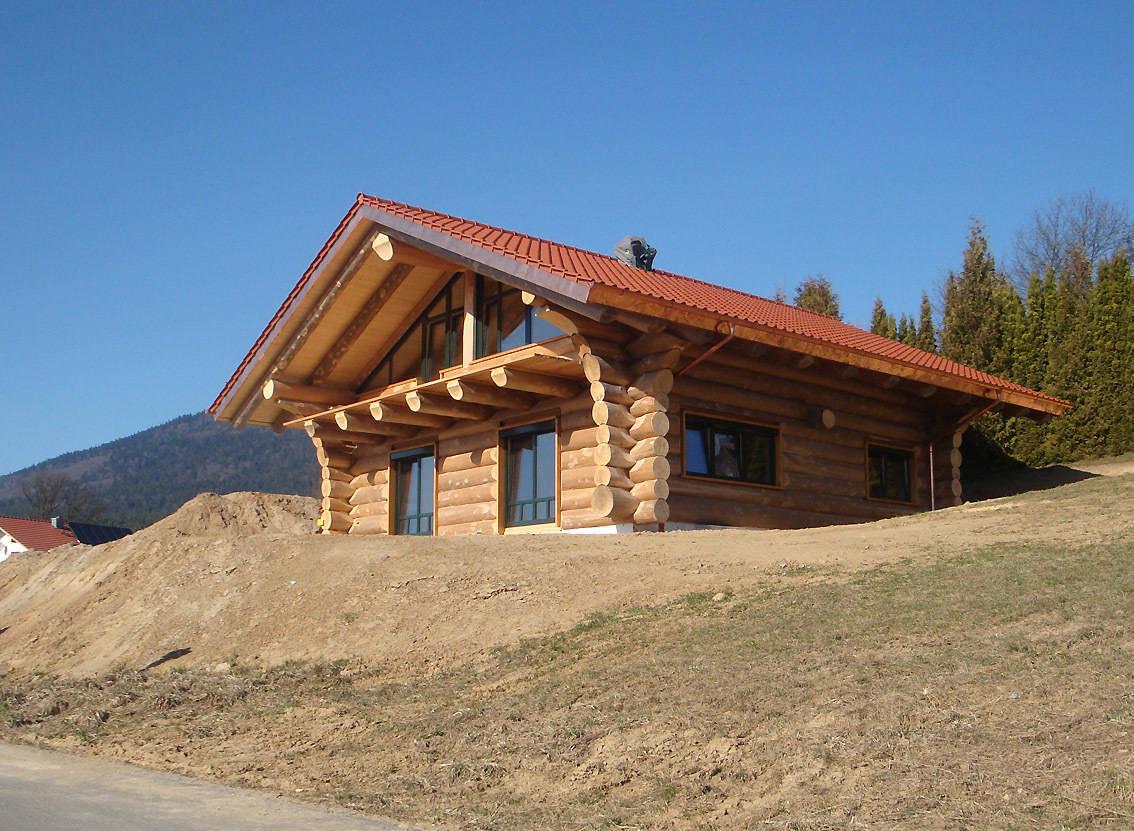 Naturstamm-Blockhaus in Bad Kötzingen