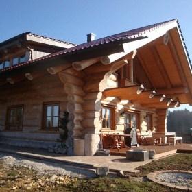 Naturstammhaus Mahlstetten
