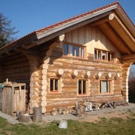 Blockhaus in Unterlengenhardt