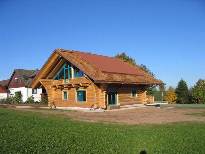 Naturstammhaus-Blockhaus in Besenfeld