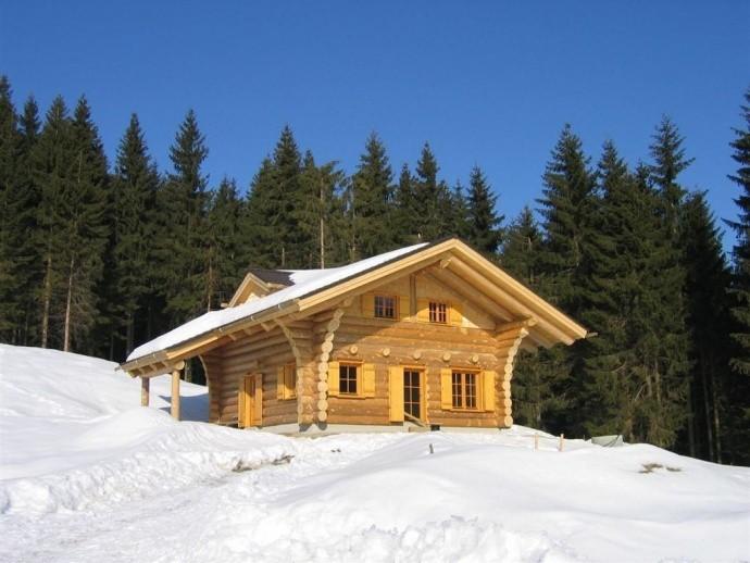 Naturstamm Jagdhütte Isny