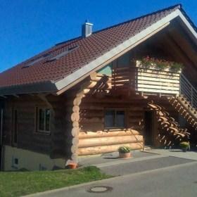 Naturstammhaus in Engelsbrand