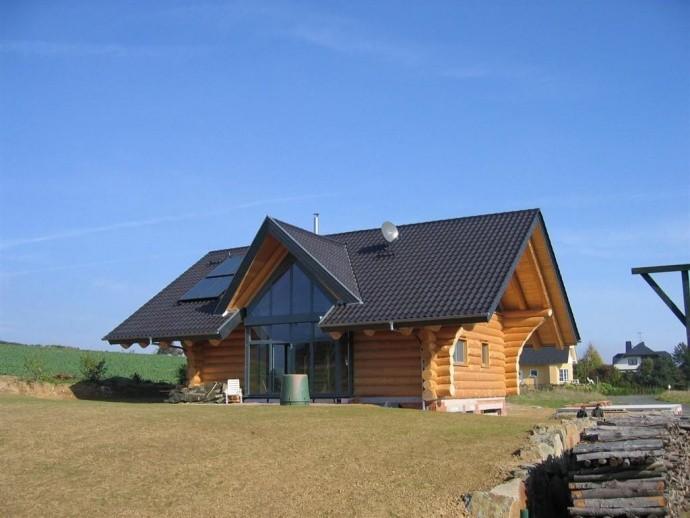 Naturstamm Blockhaus Wiesbaden