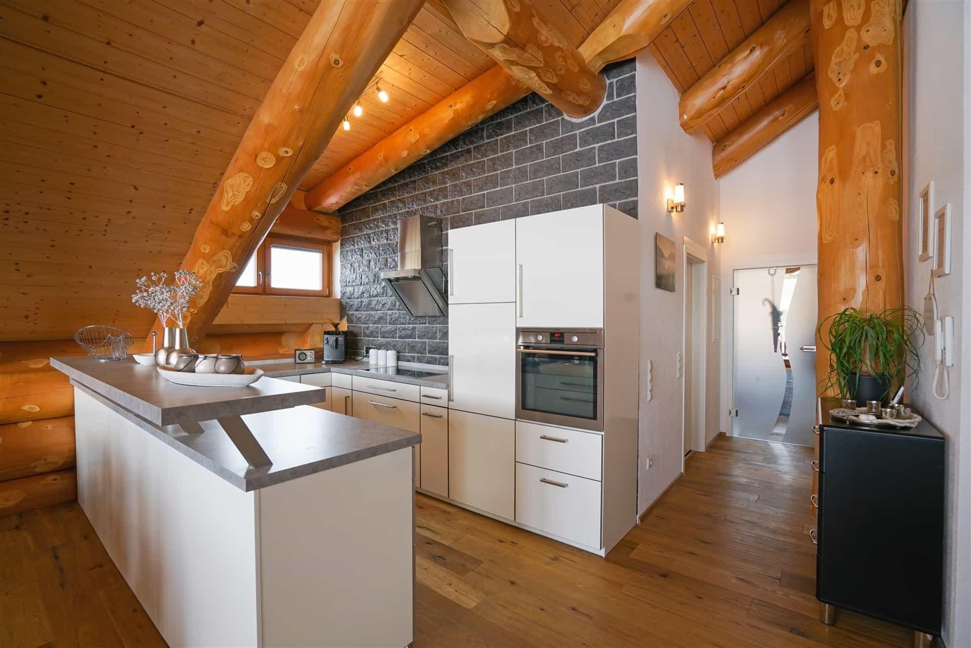 Innenausbau - Egner Blockhaus